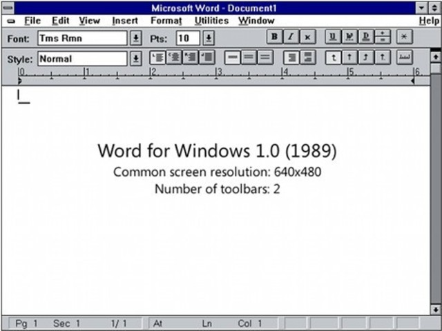 Introduction of Microsoft Office