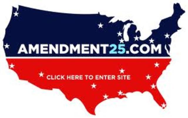 Amendment, 25th