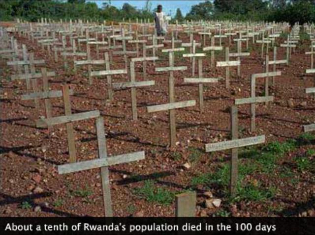 Rwandan Genocide (continued)