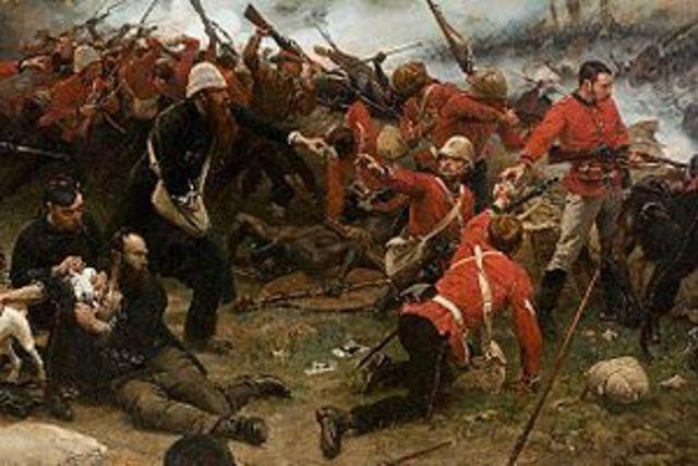 Zulus Fight British