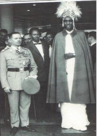 Tutsis king subdues central Rwanda and Hutu areas