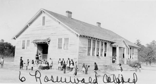 Rosenwald School in South Carolina