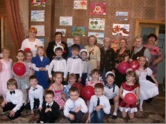 Встречи с ветеранами детского сада