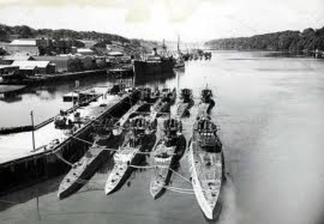 Start of the Battle of the Atlantic
