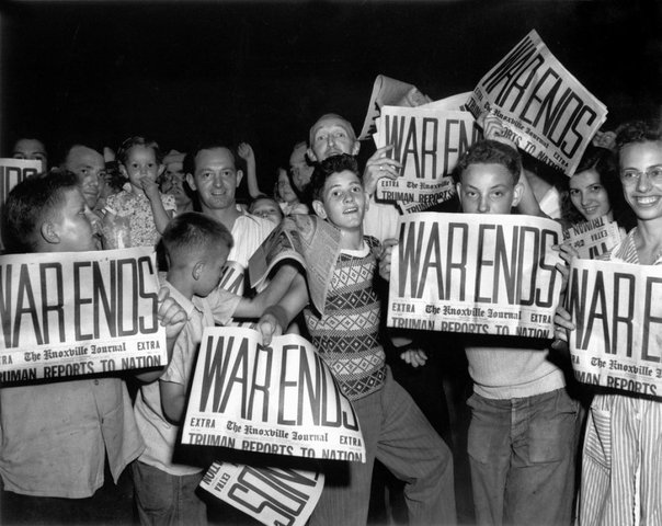 End of WWII (V-E Day)