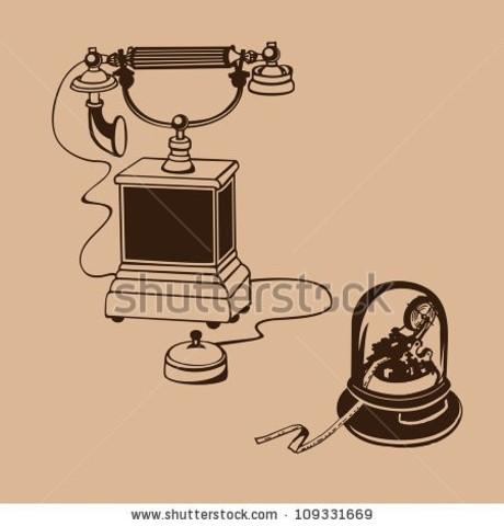 Telegraph phone