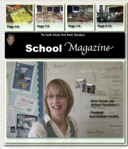Making My School Magazine