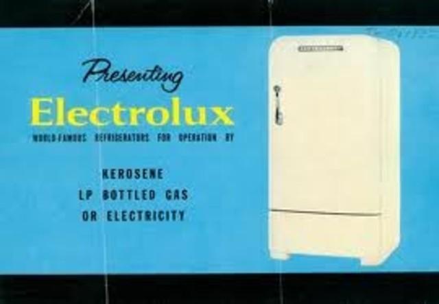 Electrolux gas refridgerator