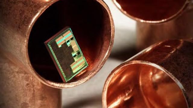 copper- based chip