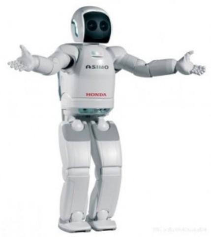 Honda introduced its 4-foot bipedal Asimo robot