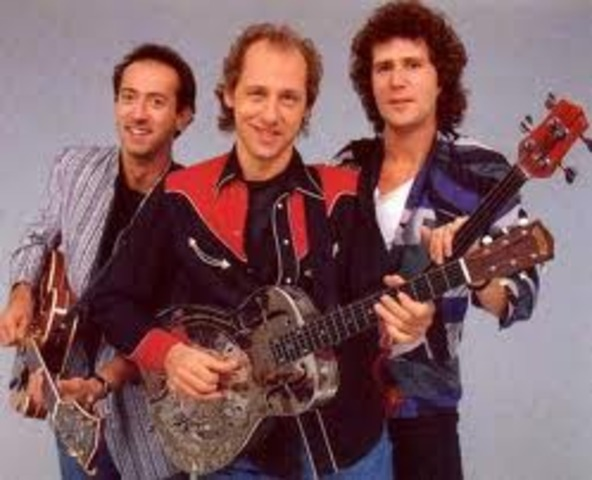 """The Dire Straits- """"The Man's Too Strong"""""""