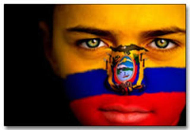 Independencia de Ecuador.
