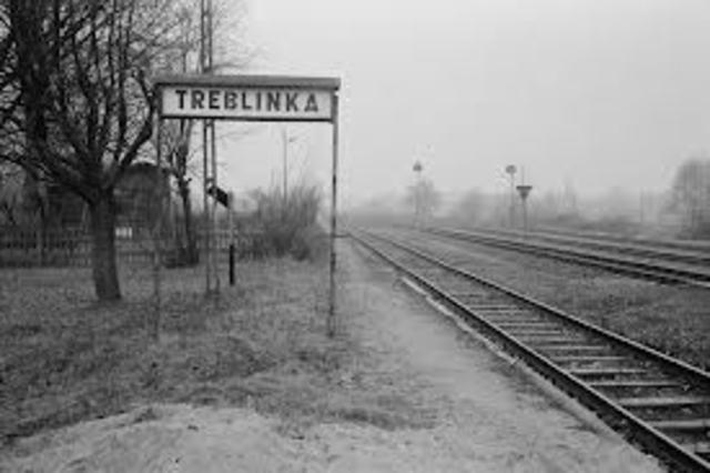 Treblinka death camp opens.