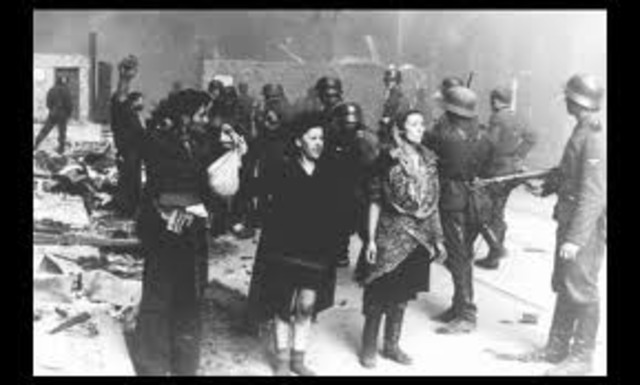 16Jews in the Warsaw ghetto initiate resistance to deportation by the Germans to the death camps.