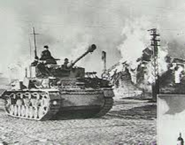 The German army invades Hungary.