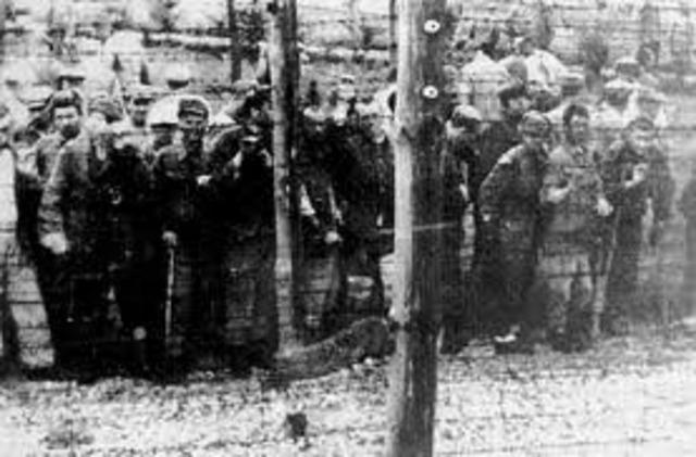 The Soviet Army liberates the Majdanek death camp.