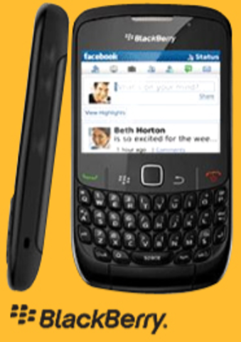 First BlackBerry Smartphone