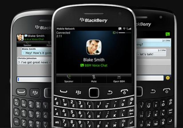 intro the blackberry