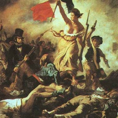 The French Revolution (4 stages) timeline