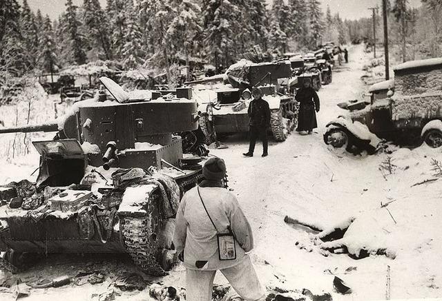 Russia invades Finland