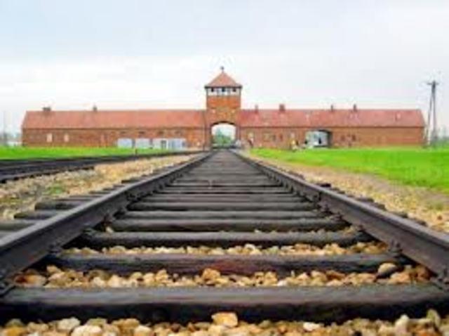 Camp Birkenau begins