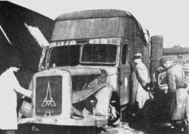 Austrian Gypsies deported and killed in gas vans