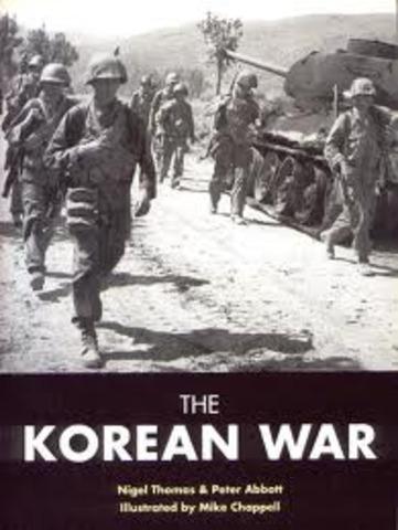 Start of the Korean War