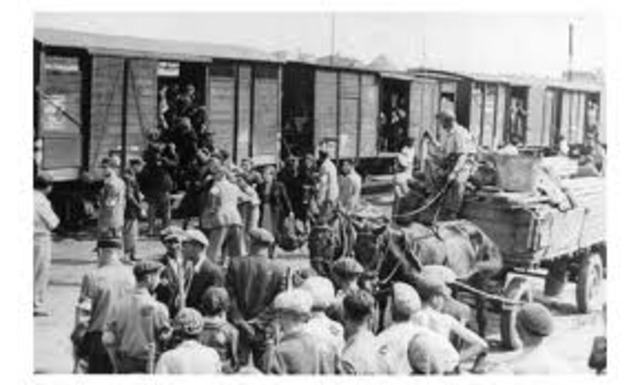 Jews deported to the Chelmno death camp