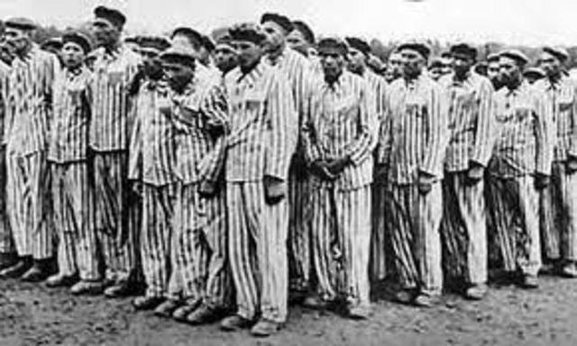 Jews in Germany sent to concentration camps