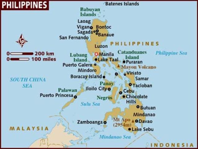 Magellan in the Phillipines