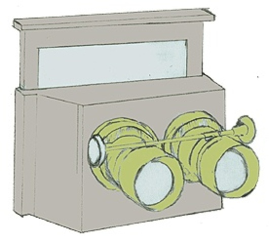 The first twin lens stereoscopic camera was intrduced by John B. Dancer