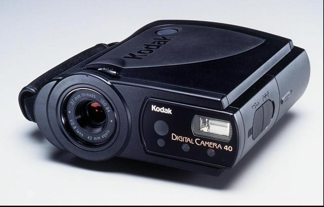 The first consumer level digital cameras