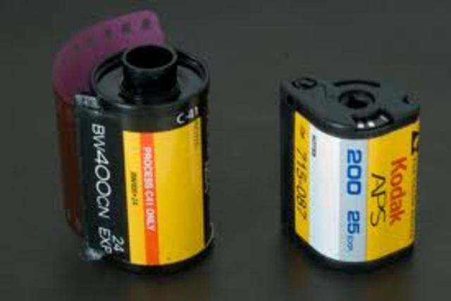 The short-lived APS format film introduced