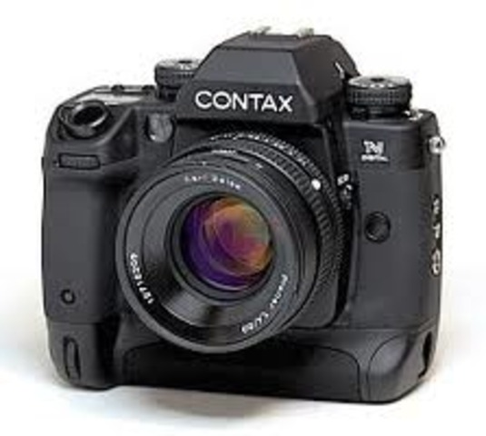 Contax introduced the NDigital