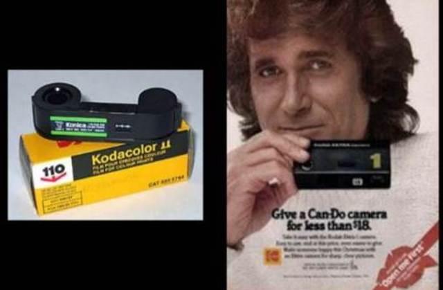 110 format cameras introduced by Kodak.