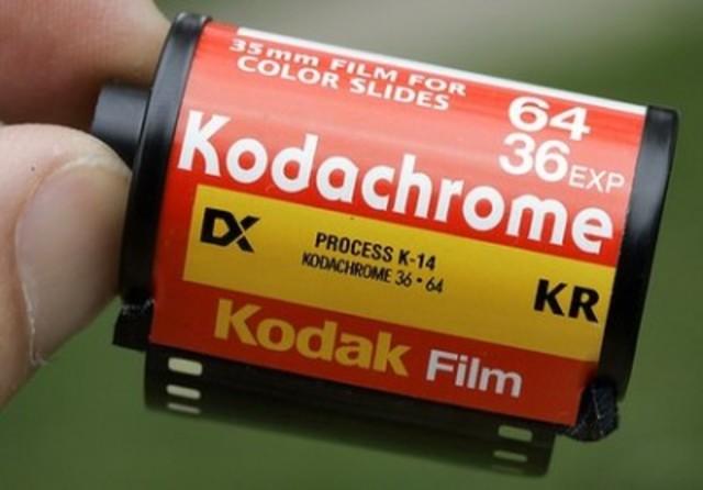 Markets Kodachrome film