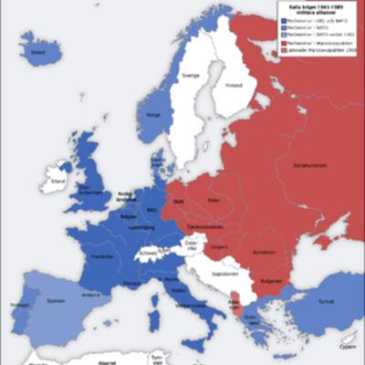 Kalla kriget timeline