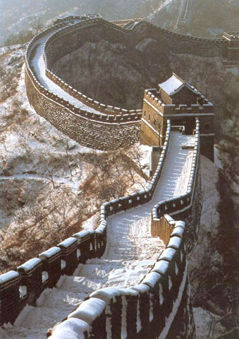 Connection of the Barbarian Walls to create the Great Wall of China