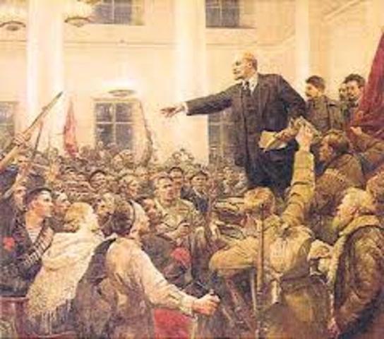 Rusia la Revolucion bolchevique