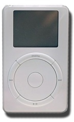 Apple Launches First iPod