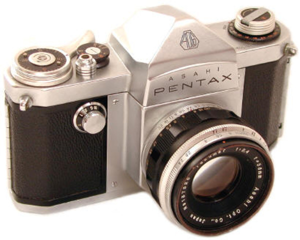 First Asahi Pentax SLR camera