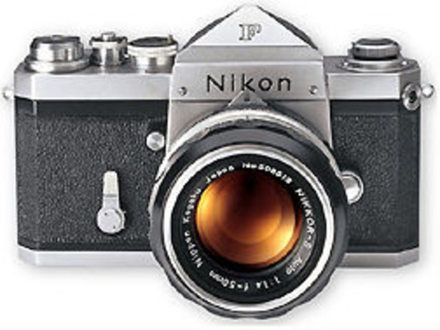 Nikon F SLR camera