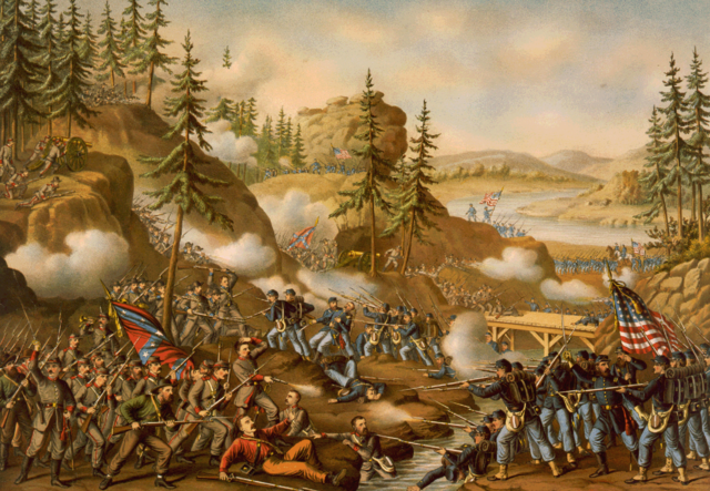 Union forces win Chatanooga