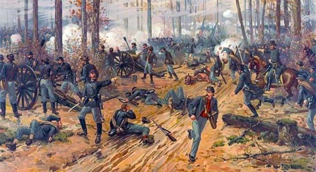 Grant wins the Battle at Shiloh
