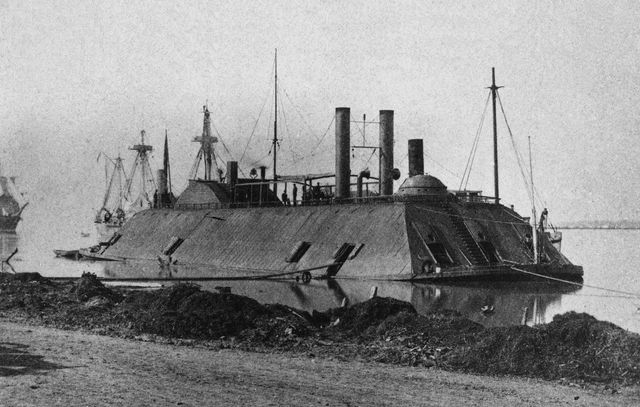 Battle of ironclads ends in a draw