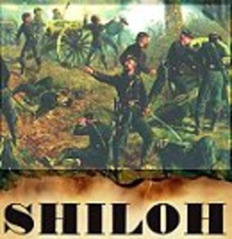 Union victory at Shiloh