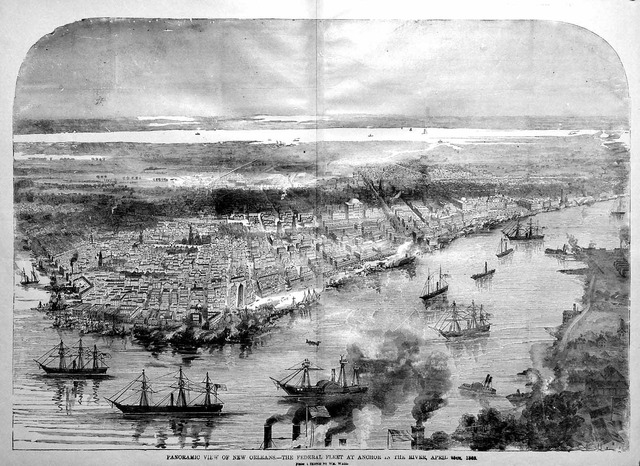 New Orleans is captured for the Union