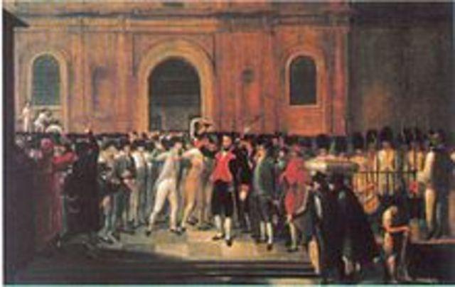 La Revolución del 19 de abril de 1810 (Venezuela)