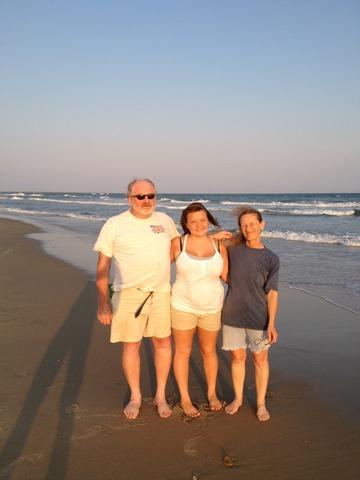 North Carolina ver mis abuelos.