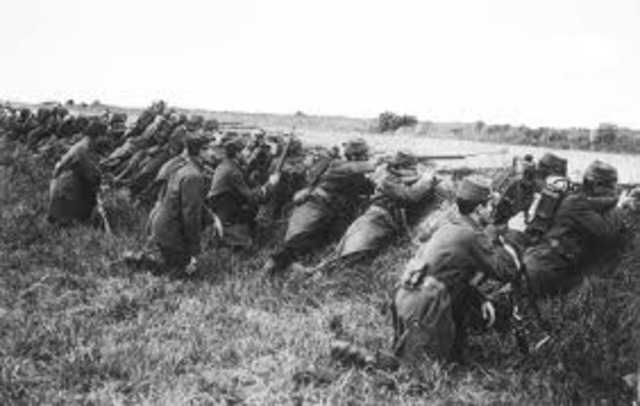 Germans stopped at Marne